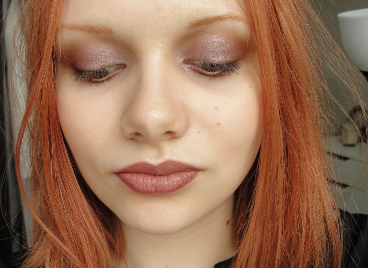 Chanel Raffinement, Nars Dolomites, Charlotte Tilbury Very Victoria, Mad Red Chestnut, Hourglass Mood Exposure