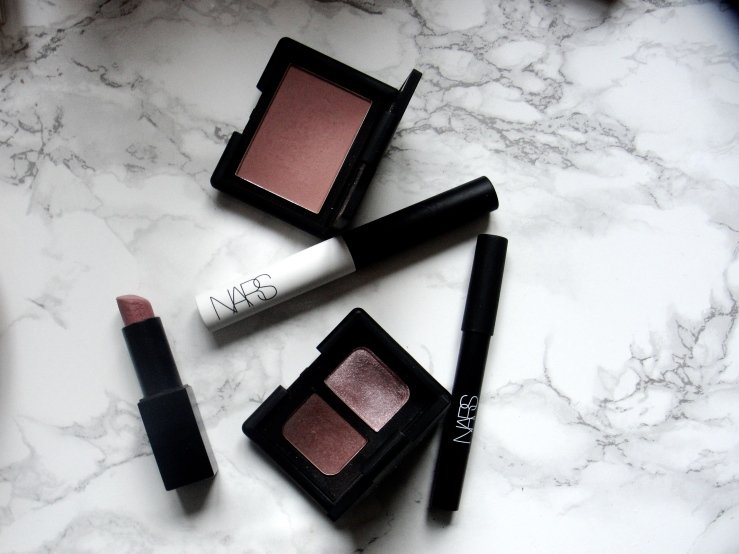 Chanel Accent, Nars Douceur, Mac Honeylove