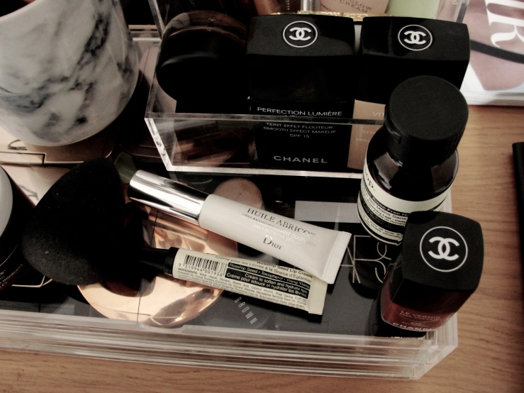 Chanel Exception, Aesop, Dior, Chanel, Muji
