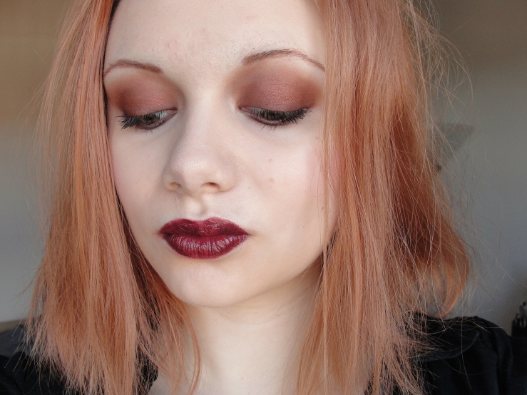 Chanel Rouge Noir, Mac Antiqued