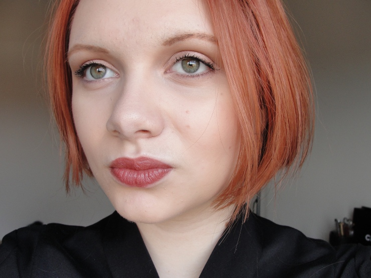 Chanel Farouche, Hourglass Mood Exposure, Mac Naked Lunch, Chanel Perfection Lumiere Velvet